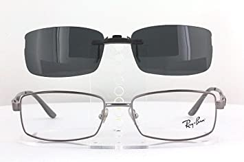 ec276acd62 RAY-BAN RB6155-53X17 POLARIZED CLIP-ON SUNGLASSES (Frame NOT Included)