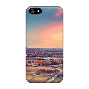 Special Design Back Autumn Sunset Clouds Phone Case Cover For Iphone 5/5s