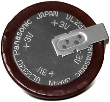 Panasonic ( 1-Piece VL2330 ) ( More options available ) Rechargeable, VL2330 - VL 2330, VL2330/HFN , 3V Lithium Coin Cell Battery