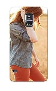 Hot Design Premium Qcwtqm-693-mcxrwyi Tpu Case Cover Galaxy S5 Protection Case (girl )