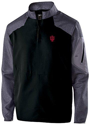 Ouray Sportswear NCAA Indiana Hoosiers Men's Raider Pullover Top, Medium, Carbon (Ncaa Prints Shop)