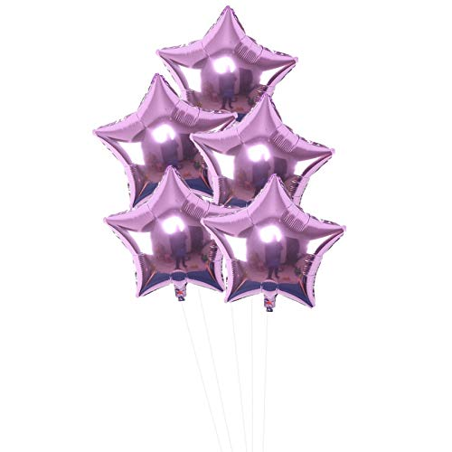 Best Quality - Ballons & Accessories - 6pcs 18inch Happy Birthday Star Balloons Baby Shower Foil Helium Balloon Adult Globos 1st Birthday Decoration Ballon - by Viet JK - 1 PCs ()