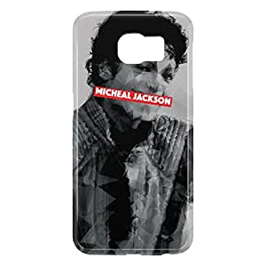 Loud Universe Samsung Galaxy S6 3D Wrap Around Micheal Jackson Print Cover - Multi Color