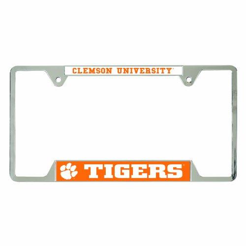 WinCraft NCAA Clemson Tigers License Plate Frames, 21468010 ()