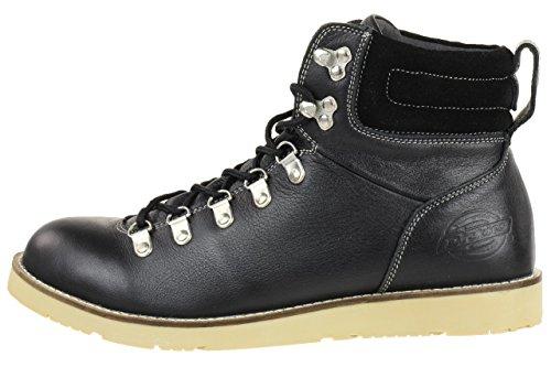 Dickies SUPERNOVA Zapatos Botas Negro Cuero Casual para Hombre
