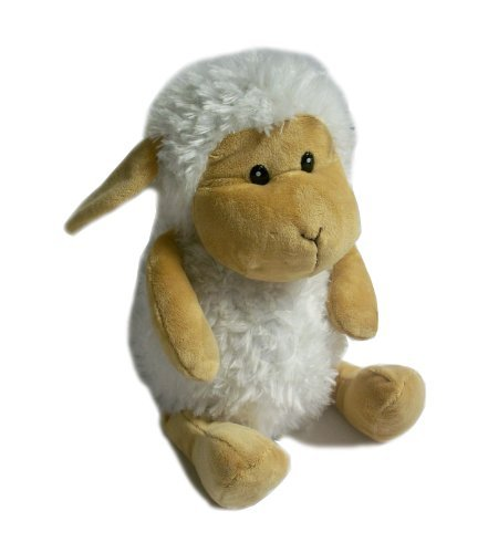 - LUXURY 3D KUDDLI COUNTRY ANIMAL FRIENDS CUDDLY SHEEP WHEAT BAG 43cm / 17 - TOY by Mistry