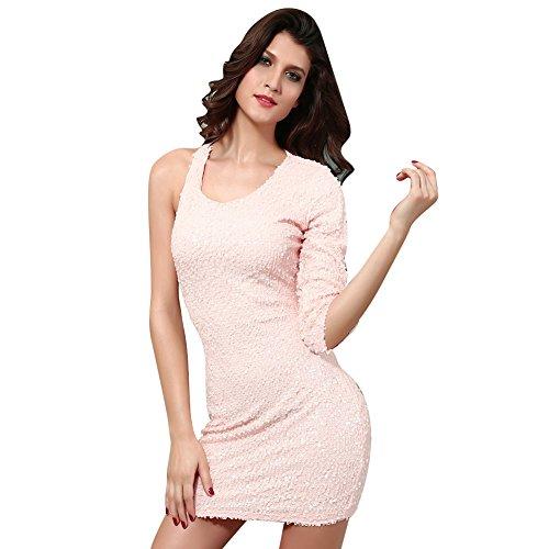 Pinkyee - Vestido - para mujer Rosa