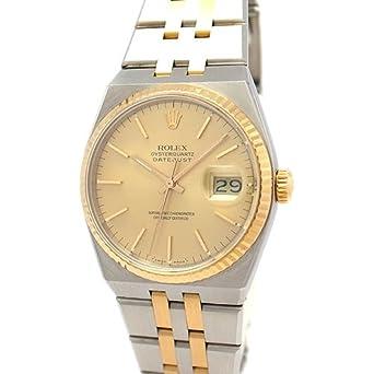 a1b9a87905 Amazon   ROLEX(ロレックス) 腕時計 17013 デイトジャスト オイスタークォーツ メンズ(中古)   ROLEX(ロレックス)    腕時計 通販