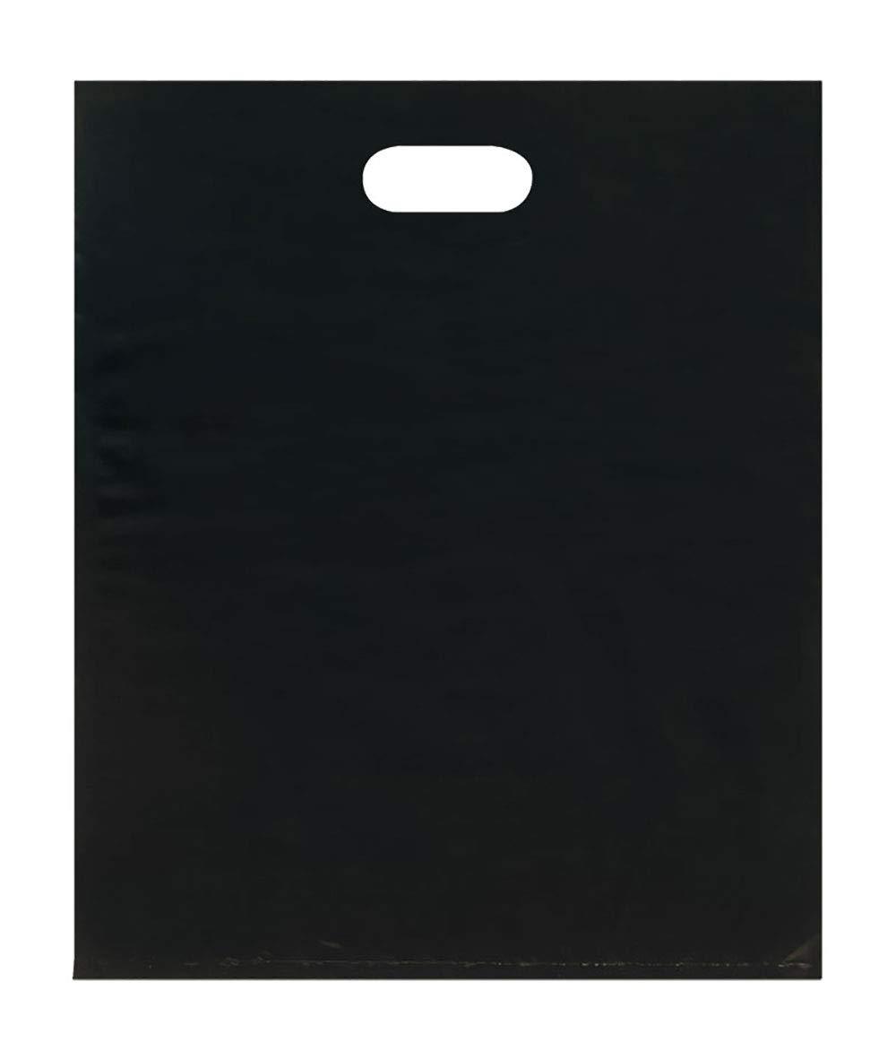 Merchandise Bags - Lightweight - Black - (15x18) - Pack of 500