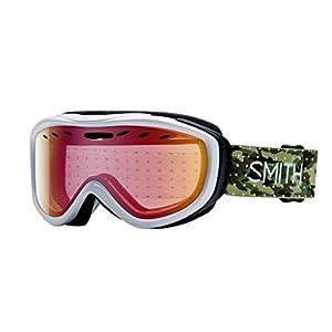 Smith Optics Cadence Women's Cylindrical Series Snocross Snowmobile Goggles Eyewear - Dot Camo/Red Sensor Mirror / Medium