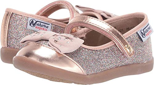 Naturino Express Baby Girl's Luciana (Toddler/Little Kid) Gold 7 M US Toddler