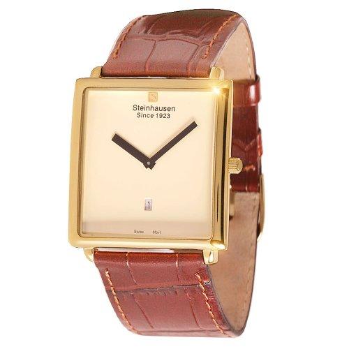 Steinhausen Men s TW516G Artise Swiss Quartz Gold Watch