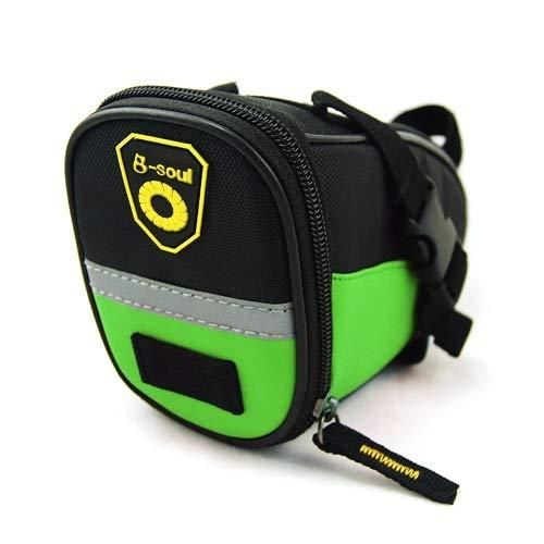 - JFIDSJ Bicycle Mountain Bike Tail Bag Saddle Bag Tool Rear Seat Bag Cushion Bag Cycling Equipment knapsack (Color : 4)