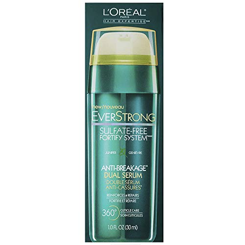 - L'Oreal Paris Hair Expertise EverStrong Anti-Breakage Double Force Cream Serum, 1.0 Fluid Ounce