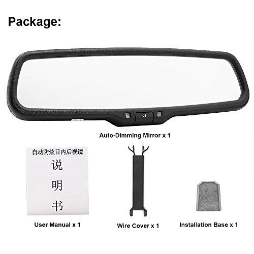 auto dimming car interior rear view mirror bracket. Black Bedroom Furniture Sets. Home Design Ideas