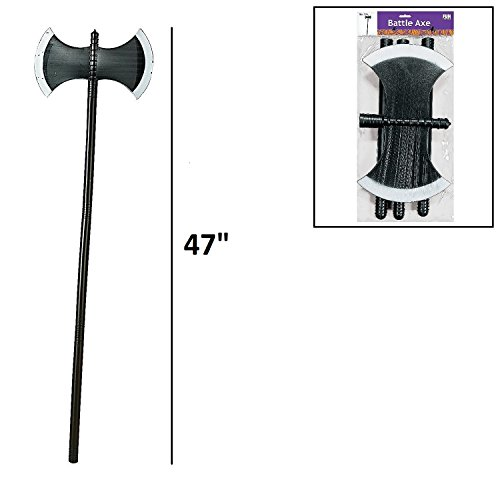 Battle Axe with Collapsible Handle