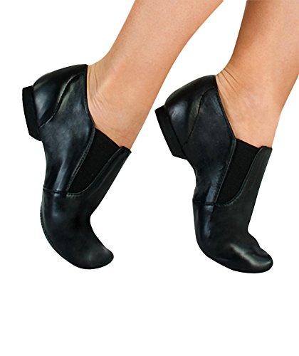 Jazzy Chita Girl's Body Dance Tan Leather Wrappers Jazz Boot O6EqA0Ex