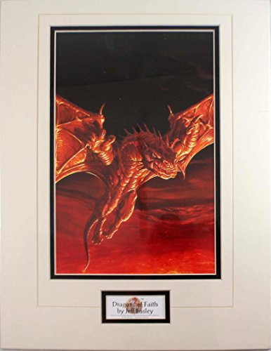Dragonlance - Calendars, Software & Miscellaneous Dragons of Faith (Matted) SW
