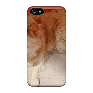 Cute Tpu WilliamMorrisNelson Sellchuq Dog Case Cover For Iphone 5/5s
