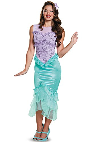 (Ariel Tween Disney Princess The Little Mermaid Costume,)