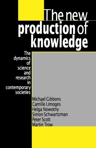Limoges Fish - The New Production of Knowledge: The Dynamics of Science and Research in Contemporary Societies by Michael Gibbons (1994-09-09)