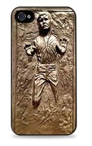 Han Solo Frozen in Carbonite Apple iPhone 4/4s ( ) Black Case STAR WARS -320