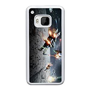HTC One M9 Cell Phone Case White Star Wars ST1YL6705386