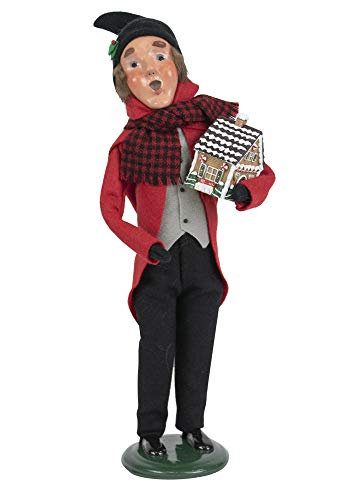 Byers' Choice Gingerbread Man Caroler Figurine from The Christmas Market Collection #4462E (New 2019)