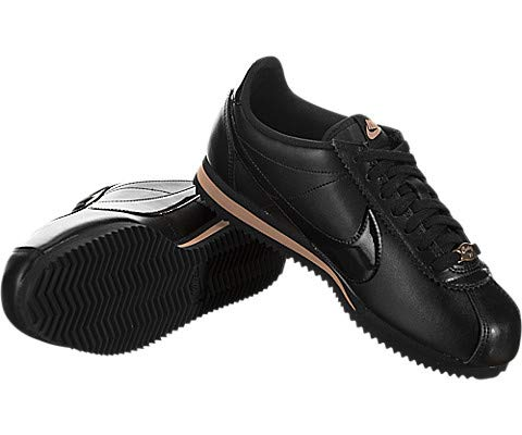 buy popular cae2c 7e4aa Nike Women's Classic Cortez Premium Black/Rose Gold/Black 905614-010, 7.5 M  US