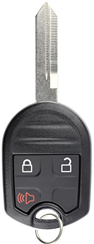 KeylessOption Keyless Entry Remote Control Uncut Blank Car Ignition Key Fob Replacement for ()