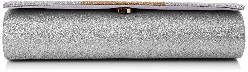 Sparkle Argent Swankyswans Color Block Jem Pochettes Silver wxv4wX