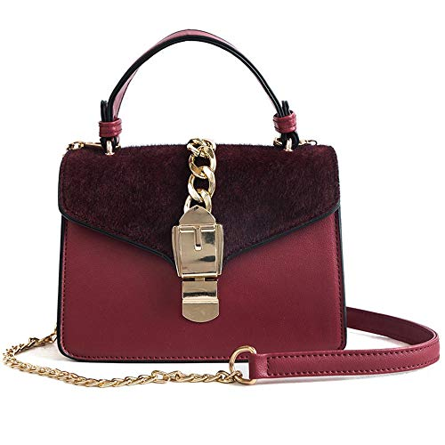 Crossbody À Bandoulière Messenger Femmes Red Lady Pour Sacs Main Sac Rouge Rabat Ingsd UxYvwA