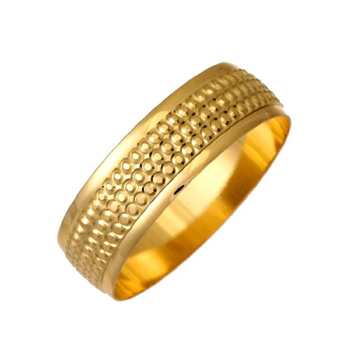 Berker Bros - LDNC120 - 7 09Y2/R - Alliance Homme - Or jaune (9 carats) 2.79 Gr