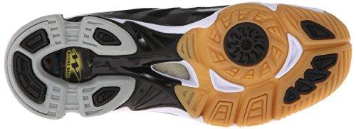Zapatos De Voleibol Mizuno Mitad Blanco Mitad Negro 6bCZy