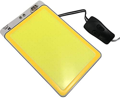 Light for Camping, Photography, and Working Light – 12V 30W 3250 Lumen New Technology COB LED Ultra Bright and Thin – with Magnetic Stand