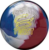 Brunswick Twist Reactive Bowling Ball- Red/White/Blue 9lbs