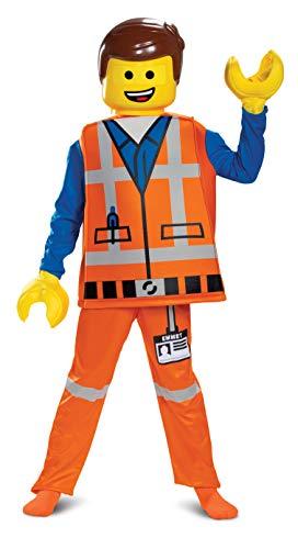 Kids Movie Costumes (Disguise Emmet LEGO Movie 2 Deluxe Boys')