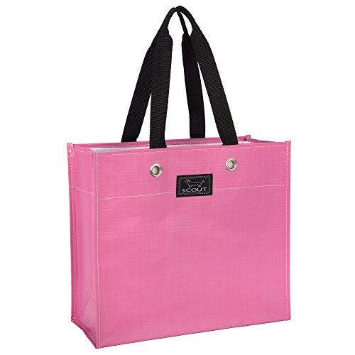 SCOUT Large Package Reusable Gift Bag, Pink Lemonade