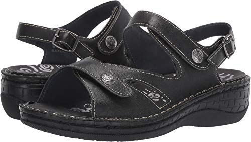 Propet Women's Jocelyn Black 9 M US - Sandal Womens Jocelyn Platform