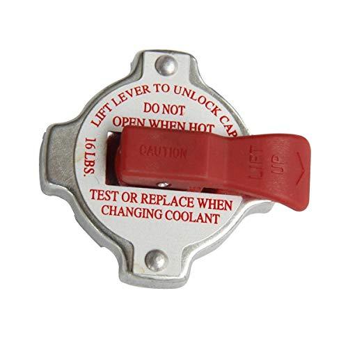 HIGH PRESSURE 16LBS RADIATOR CAP STAINLESS STEEL PRESSURE RELEASE