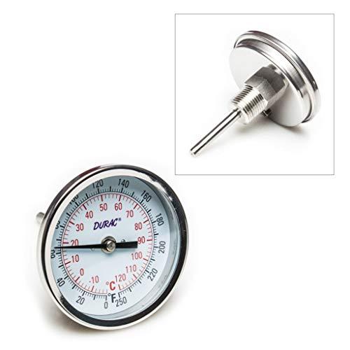(89095-760EA - Range : -20/120C (0/250F) - VWR Bi-Metallic Dial Thermometers, 1/2