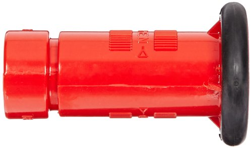"""Moon 517-102 Polycarbonate Fire Hose Nozzle, Fog, 22 gpm, 1"""" NH"""