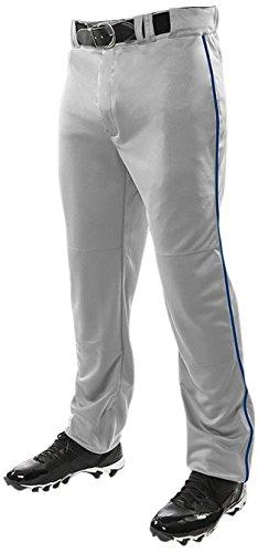 ChamproメンズTriple Crown Open Bottom Piped Pants B01BFMLXB6 S|Grey|Navy Grey|Navy S