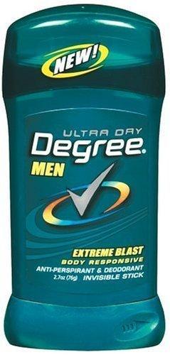 Degree Deodorant 2.7oz Mens Extreme Blast (6 Pack) by Degree