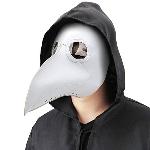 viavia Bird Mask Plague Doctor Mask Birds Long