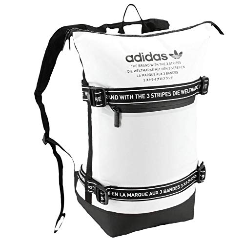adidas Originals NMD Backpack, White/Black, One Size