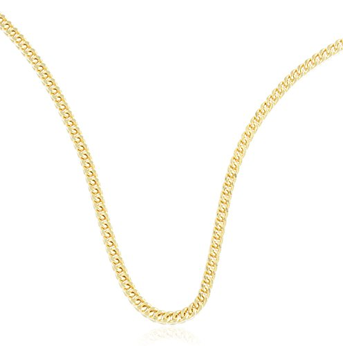 2.5 Mm Franco Chain (10k Yellow Gold 2.5mm Franco Chain - 24