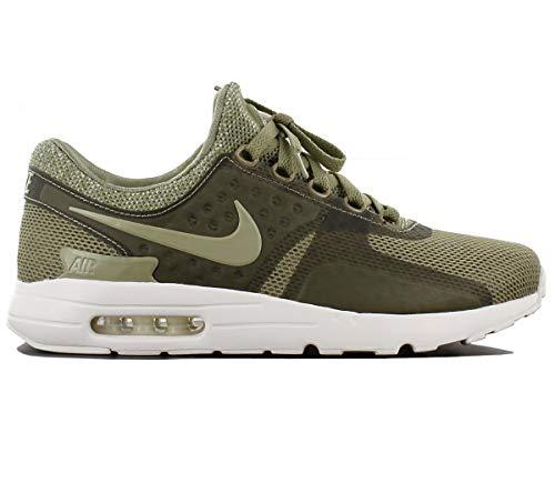 NIKE Air Max Zero Essential Mens Running Shoes Trooper/Trooper-Summit White