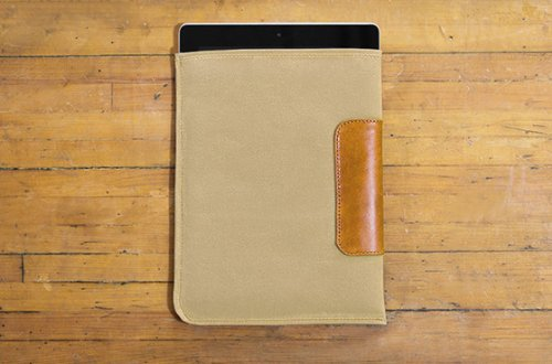 Sw Apple Accents (DODOcase DURABLES Natural iPad Mini Sleeve)