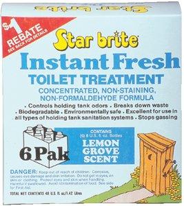 TOILET TREATMENT LEMON 6 per pack ()